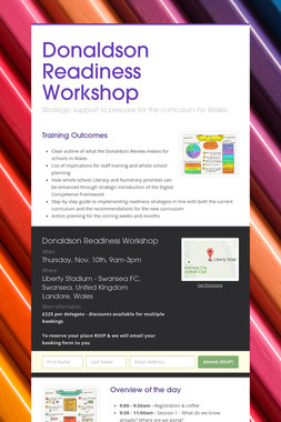 Donaldson Readiness Workshop