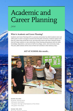 Academic and Career Planning