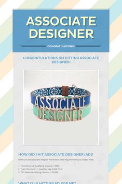 Associate Designer