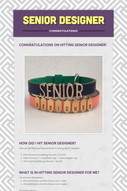 Senior Designer
