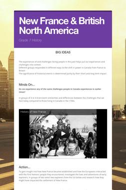 New France & British North America