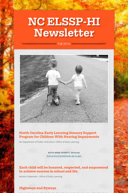 NC ELSSP-HI Newsletter