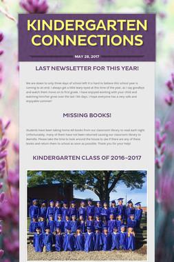 Kindergarten Connections