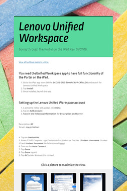 Lenovo Unified Workspace