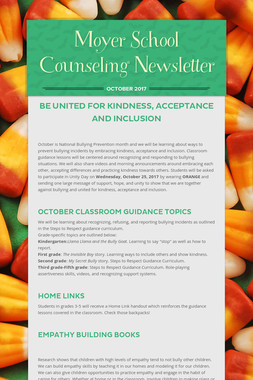 Moyer School Counseling Newsletter