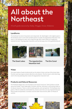 All about the Northeast
