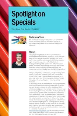 Spotlight on Specials