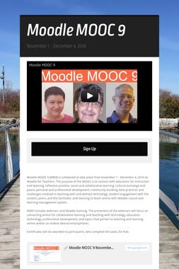 Moodle MOOC 9
