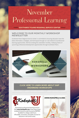 November Professional Learning