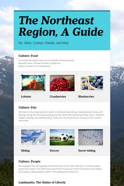 The Northeast Region, A Guide