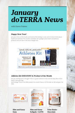 January doTERRA News