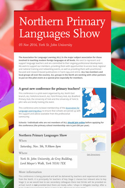 Northern Primary Languages Show
