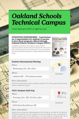 Oakland Schools Technical Campus