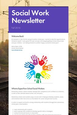 Social Work Newsletter