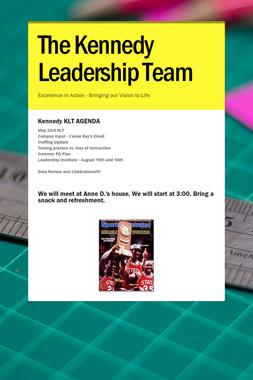 The Kennedy Leadership Team