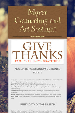 Moyer Counseling and Art Spotlight