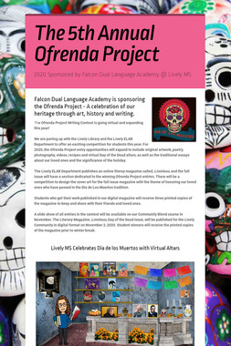 The 2nd Annual Ofrenda Project