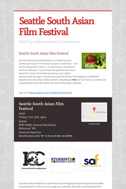 Seattle South Asian Film Festival