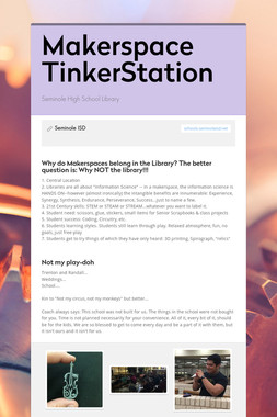 Makerspace TinkerStation
