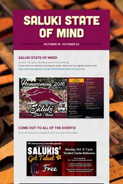 Saluki State of Mind