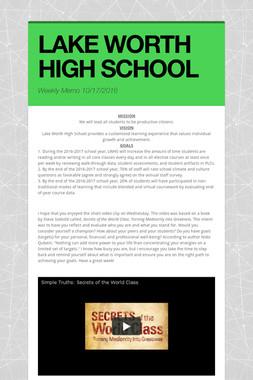 LAKE WORTH HIGH SCHOOL