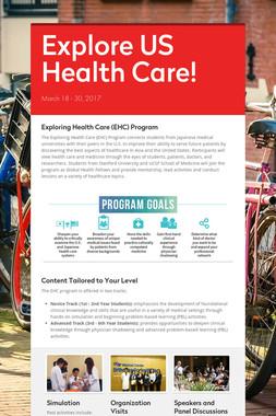 Explore US Health Care!