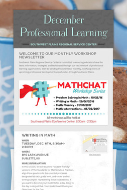 December Professional Learning