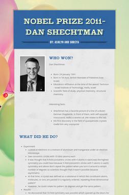Nobel Prize 2011- Dan Shechtman