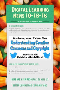 Digital Learning News 10-18-16
