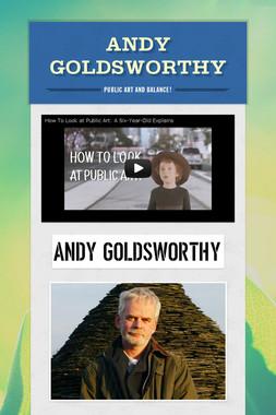 Andy Goldsworthy