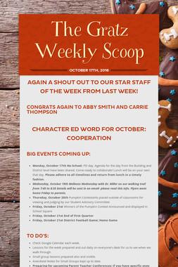 The Gratz Weekly Scoop