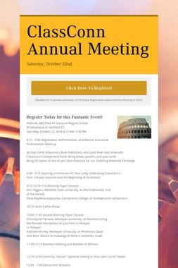 ClassConn Annual Meeting