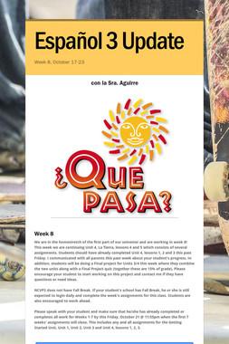 Español 3 Update