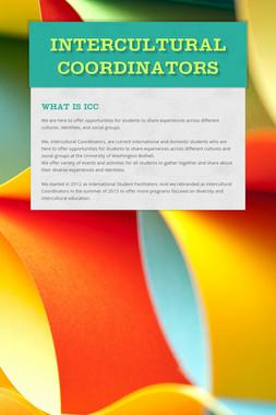 Intercultural Coordinators