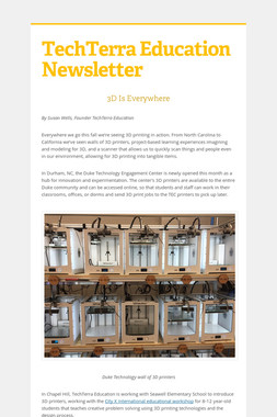 TechTerra Education Newsletter