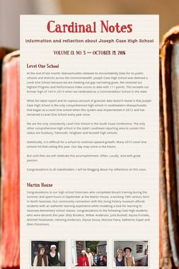 Cardinal Notes