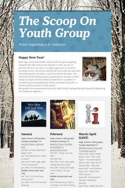 The Scoop On Youth Group