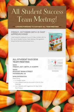 All Student Success Team Meeting!