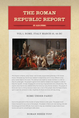 The Roman Republic Report