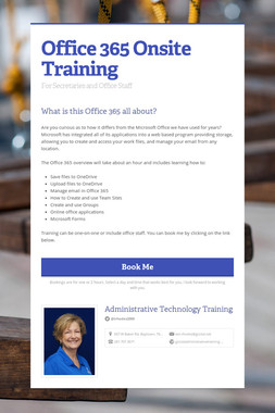 Office 365 Onsite Training