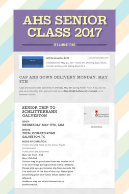 AHS Senior Class 2017