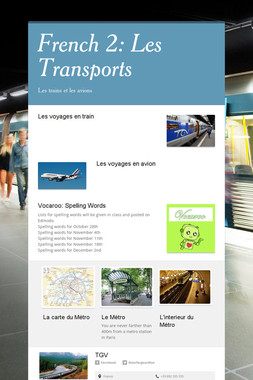 French 2: Les Transports