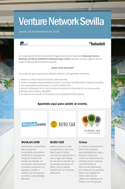 Venture Network Sevilla