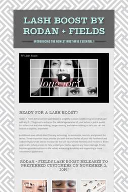Lash Boost by Rodan + Fields