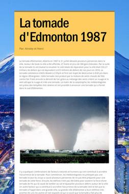La tornade d'Edmonton 1987