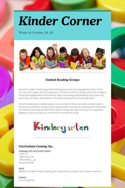 Kinder Corner