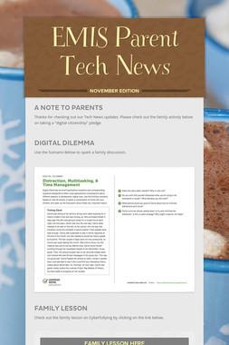 EMIS Parent Tech News