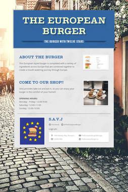 The European Burger