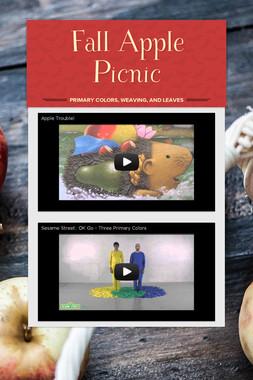 Fall Apple Picnic