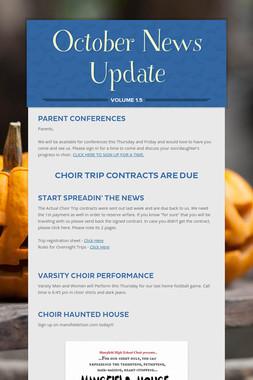 October News Update